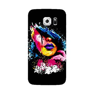 Skintice Designer Back Cover with direct 3D sublimation printing for Samsung Galaxy S6 Edge