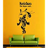 Hoopoe Decor Lord Krishna The Super Soul Wall Stickers And Decals