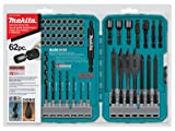 Makita T-01389 62-Piece Impact Drill-Driver Bit Set