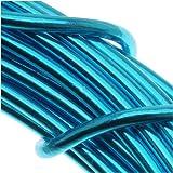 Aluminum Craft Wire 12 Gauge 39 Feet TURQUOISE