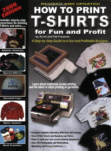 How to Print T-Shirts for Fun and Profit