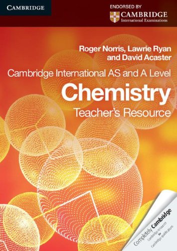 Cambridge International AS Level and A Level Chemistry Teacher's Resource CD-ROM (Cambridge International Examinations)