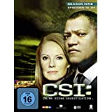 "CSI: Crime Scene Investigation - Season 9.2 [3 DVDs]von ""Laurence Fishburne"""