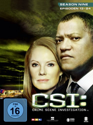 CSI: Crime Scene Investigation - Season 9.2 [3 DVDs]