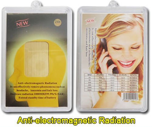 Emf Super Protection For Your Health - Use On Cell Phones - Anti Radiation & Battery Salvager By 2-3 Times. Reduce The Rad By 97.17%