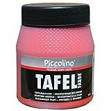 PICCOLINO Tafelfarbe 250ml Rot - Tafellack zum Malen einer mit
