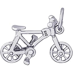 Rembrandt Charms Bicycle Charm, Sterling Silver