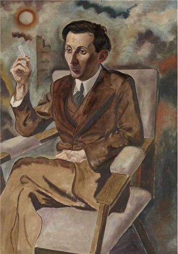 Perfect Effect Canvas ,the High Quality Art Decorative Canvas Prints Of Oil Painting 'The Writer Walter Mehring By Georg Grosz,1925', 18x26 Inch / 46x65 Cm Is Best For Dining Room Decor And Home Artwork And Gifts (Greys Anatomy Merchandise T Shirt compare prices)