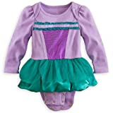 Disney Store Ariel The Little Mermaid Onesie Costume Bodysuit Size 12-18 Months
