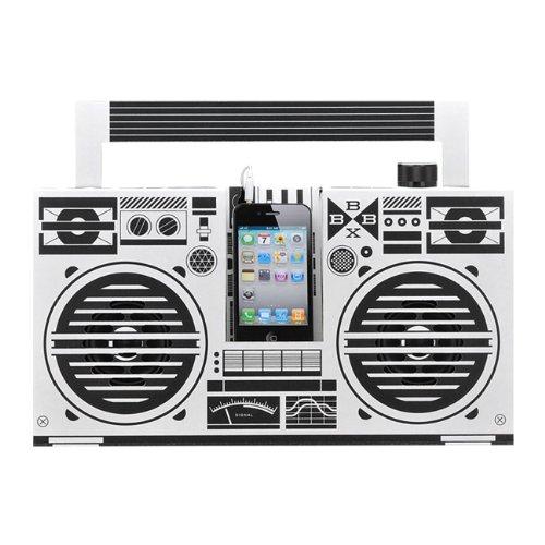 Berlin Boombox(ベルリン・ブームボックス)ドイツ・ベルリン生まれ!ダンボールで出来た組み立て式オーディオ・スピーカー iphone/iPod/Touch/スマートフォン/MP3プレイヤー/対応