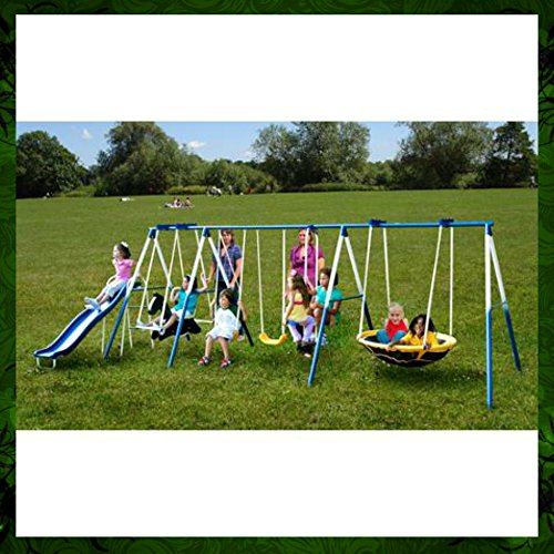 Compare Sportspower Super 8 Fun Metal Swing Set Prices And