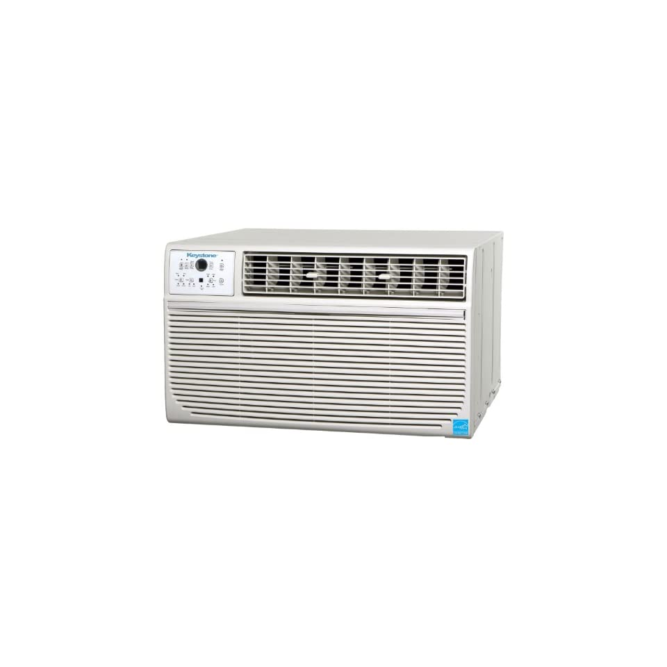 Keystone KSTAT12 1A Energy Star 12,000 BTU Through the Wall Room Air Conditioner with Follow Me Remote (115 volts)