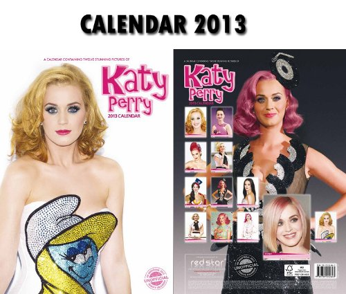 KATY PERRY 2013 CALENDAR + FREE KATY PERRY KEY RING