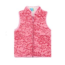 Bnspl Children\'s Fashion Printing Fleece Cardigan Vest