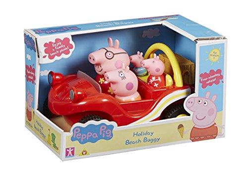 Peppa-Pig-Buggy-y-su-familia-color-rojo-Bandai-05591