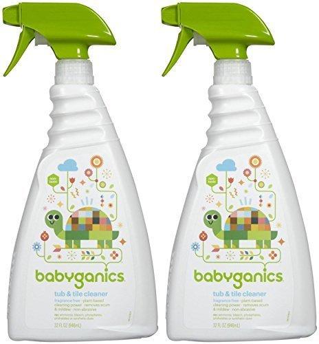 babyganics-tub-tile-cleaner-fragrance-free-32-oz-2-pk-by-babyganics