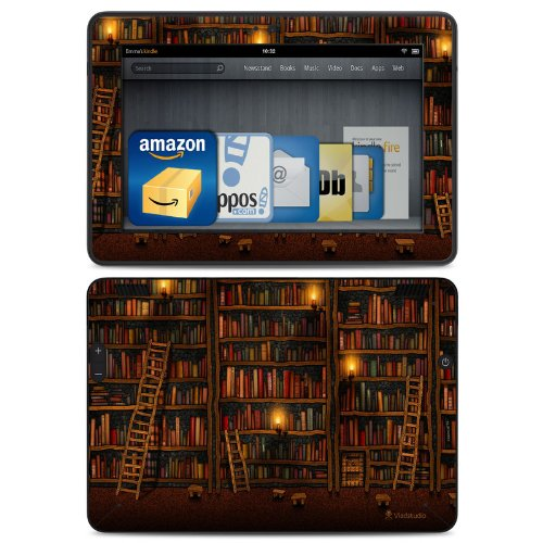 All New Kindle Fire HD Decal/Skin Kit, Library