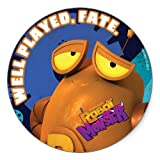 Robot & Monster: Well Played Sticker - Round
