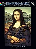 img - for Leonardo da Vinci Stained Glass Coloring Book (Dover Stained Glass Coloring Book) book / textbook / text book