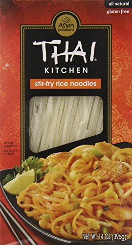 Thai Kitchen Gluten-Free Stir Fry Rice Noodles, 14 oz. (Pack of 6)