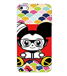 PrintDhaba Cartoon D-3211 Back Case Cover for APPLE IPHONE 5S (Multi-Coloured)