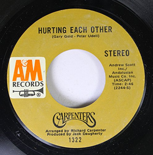 CARPENTERS - Hurting Each Other - Zortam Music