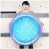 すくいアクセサリー 足踏みポンプ付イベント用丸型プール(φ80cm)1個  / お楽しみグッズ(紙風船)付きセット