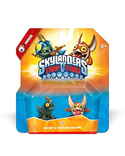 Skylanders Trap Team: Drobit & Trigger Snappy - Mini Character 2 Pack