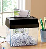 Compact Battery Operated Desktop Paper Shredder