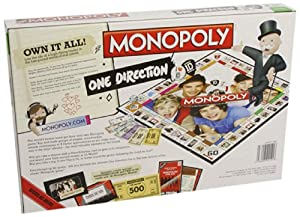 Monopoly One Direction Board Game