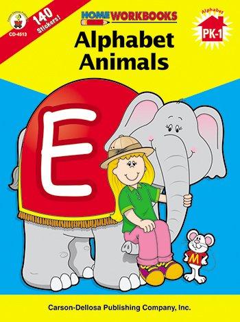 Alphabet Animals Home Workbook - 1