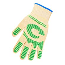 G & F 1684S Dupont Nomex and Kevlar Heat Resistant Fiber Exclusive Classic Oven Glove, Sold by Piece 1-Glove