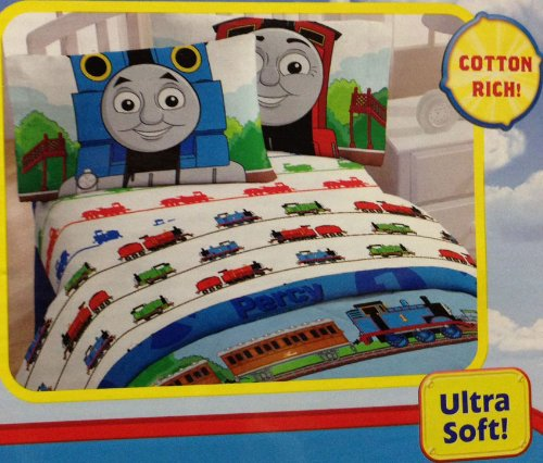 Great Features Of White Thomas the Train Bedding Twin Sheet Set