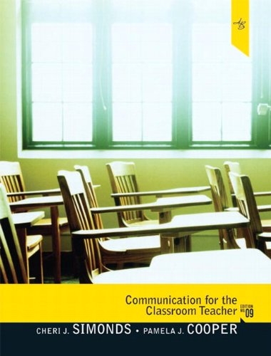 Communication for the Classroom Teacher (9th Edition)