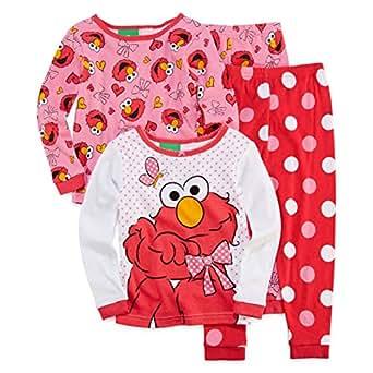 "Sesame Street ""I Love Elmo"" Glitter T-shirt - 2T"