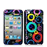 SODIAL(TM) Bubbles 2d Hard Snap-on Crystal Skin Case Cover Accessory for Ipod Touch 4th Generation 4g 4 8gb 32gb 64gb New