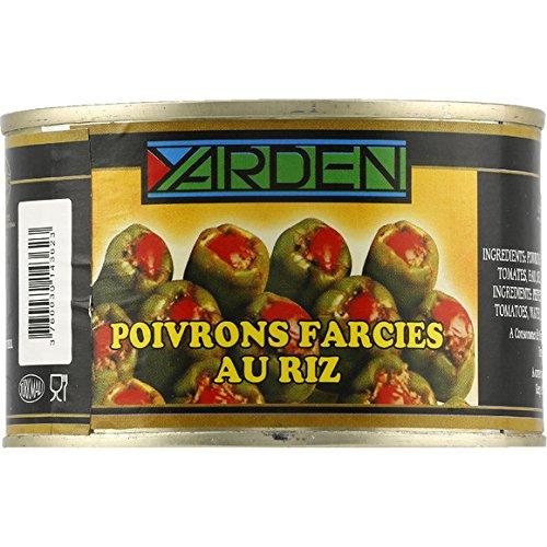 Yarden - Poivrons farcies au riz - Le bocal de 400g - (pour la quantité plus que 1 nous vous remboursons le port supplémentaire)