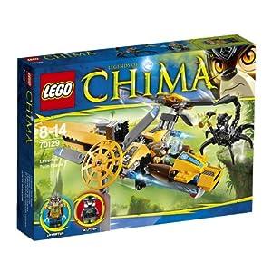 Lego Legends Of Chima - Playthèmes - 70129 - Jeu De Construction - L'hélicoptère De Lavertus
