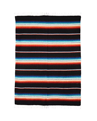 Uptown Down Rio Bravo Blanket, Black