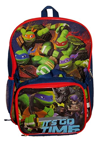 TMNT Ninja Turtles Backpack w/Lunchbox