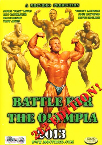 Battle for the Olympia 2013: 212 Pound Class Ed [DVD] [Import]