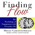 Finding Flow: The Psychology of Engagement with Everyday Life Audiobook by Mihaly Csikszentmihalyi Narrated by Sean Pratt