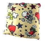 Tattoo Flash Print Fleece Decorative Throw Pillow 15in.X15in.