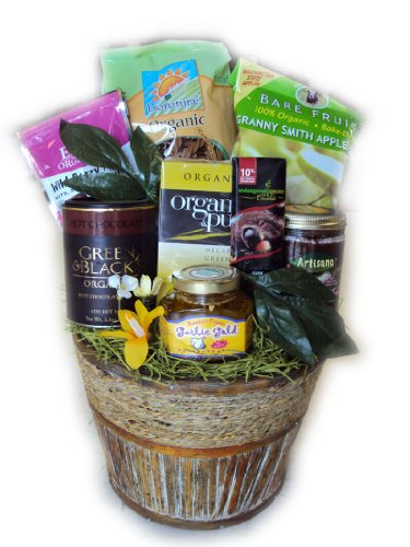 Certified Organic Heart-Healthy Gift Basket