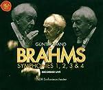 Brahms: Symphonies 1  2  3  & 4