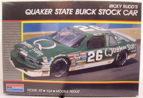 Monogram #2786 Ricky Rudd's Quaker State Buick Stock Car Plastic Kit