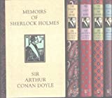 "Sir Arthur Conan Doyle 5 Book Set ""His Last Bow"", ""The Hound of the Baskervilles"", ""Memoirs of Sherlock Holmes"", ""A Study in Scarlet"" and ""The Valley of Fear"""