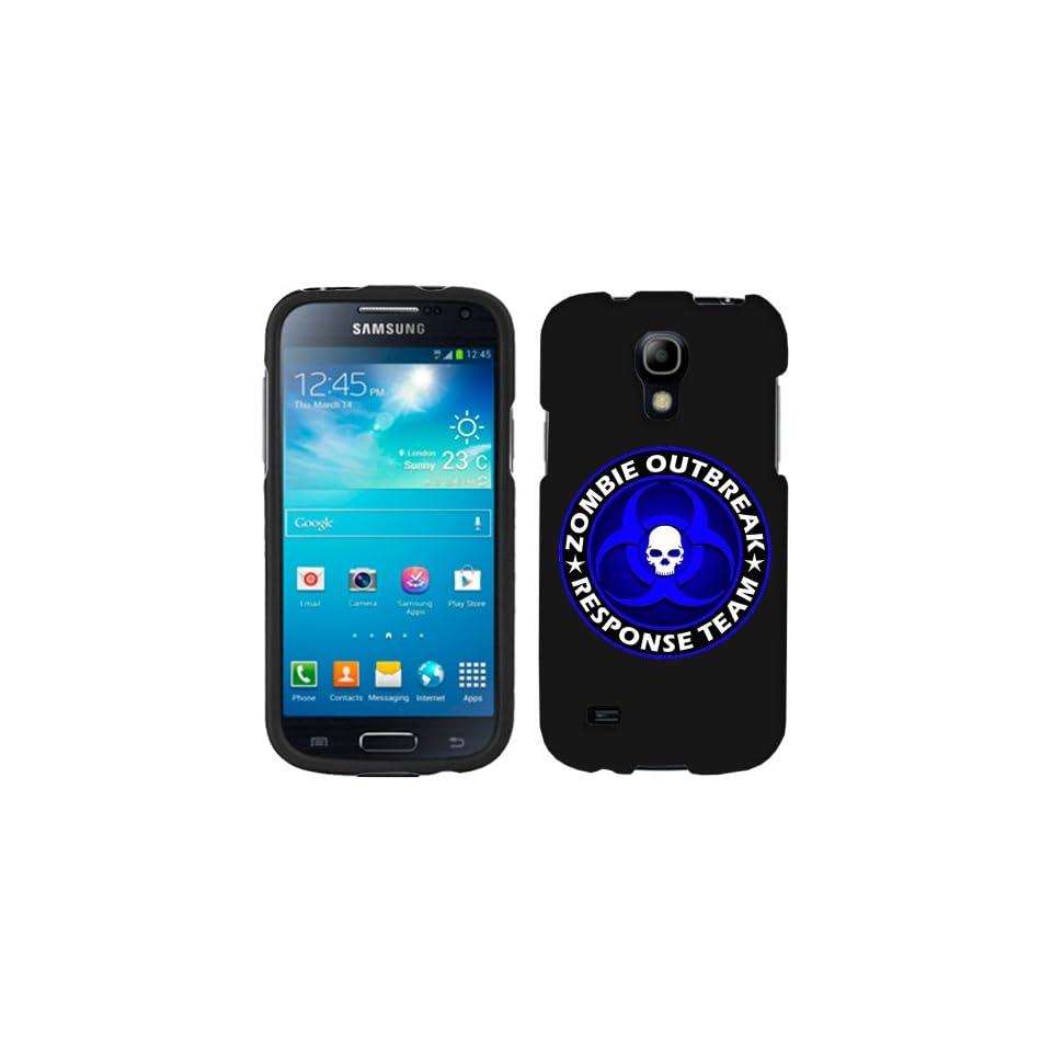 Samsung Galaxy S4 Mini Zombie OutBreak Response Team Blue on Black Phone Case Cover