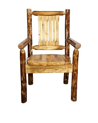 Montana Woodworks Glacier Country Captain's Chair As You See