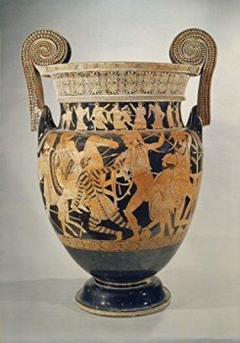 Panatenaic-Amphora-Vase-Greek-Art-Museo-Archeologica-Naples-Italy-Poster-Drucken-6096-x-9144-cm